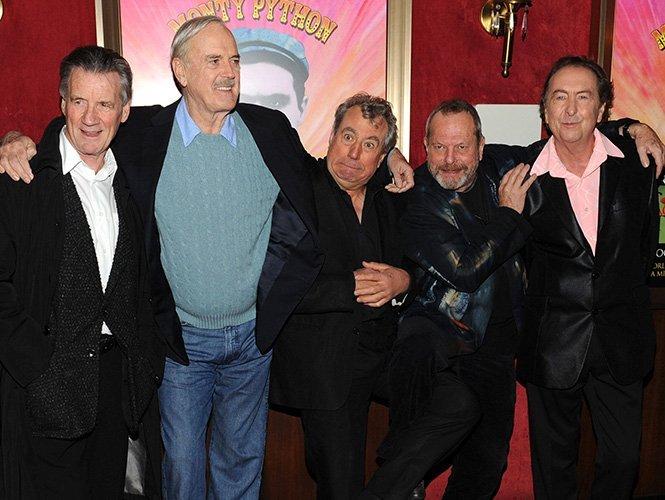 El grupo cómico Monty Python se reúne después de 30 años