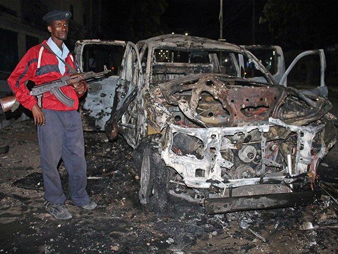 16 personas mueren en un atentado en Somalia