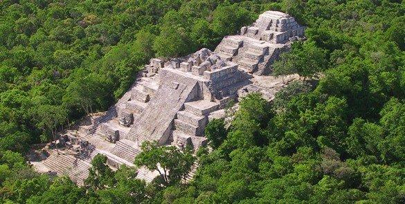 Calakmul en la lista del Patrimonio Mundial