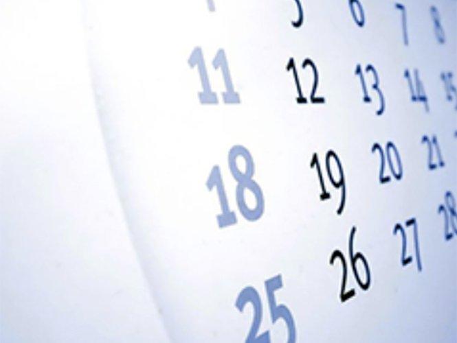 Días Feriados y Puentes Oficiales de 2014