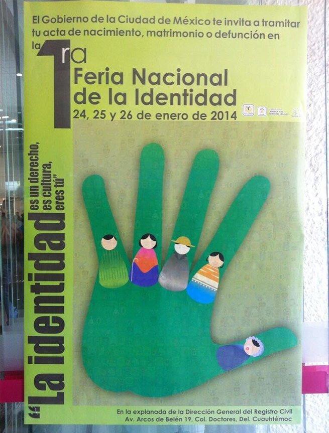 Se pone en marcha la Primera Feria Nacional de la Identidad en el DF