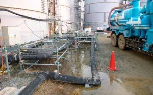 Se filtra agua radiactiva en Fukushima