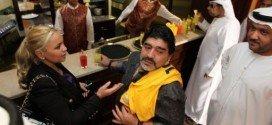 Expareja de Maradona pierde el hijo que esperaba del astro