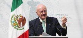 Renuncia Manuel Mondrágón, el titular de la Comisión Nacional de Seguridad