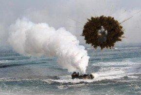 Corea del Norte y Corea del Sur disparan su artillería