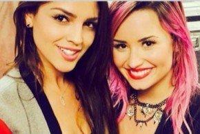 Demi Lovato y Eiza González, salen o son amigas? - Fotos