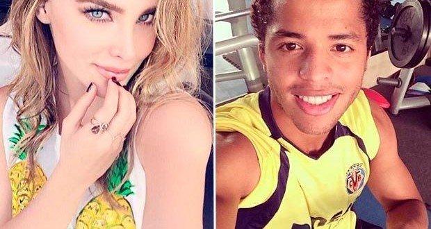 Giovani dos Santos y Belinda pelean en Twitter