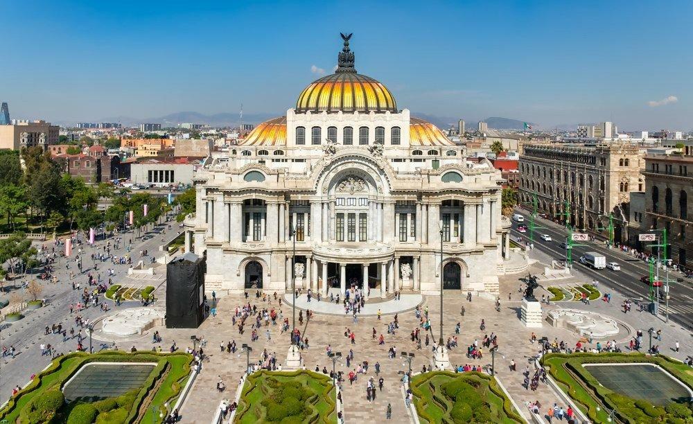 Lugares turísticos de la Ciudad de México