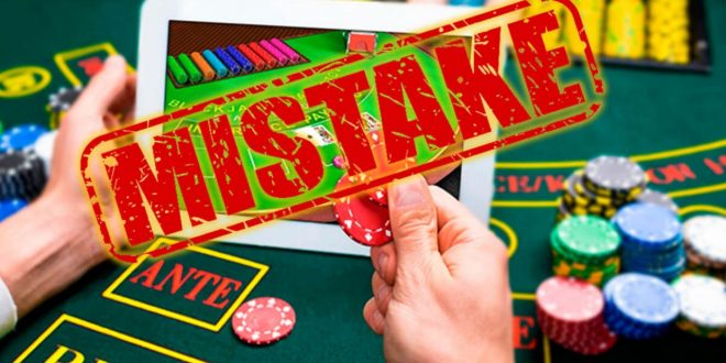 3 Prevalent Mistakes That You Must Avoid While Playing at Online Slot Gambling Websites