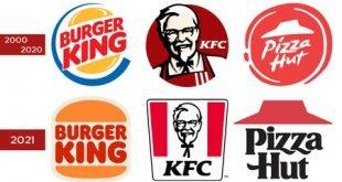 Cómo evolucionó el logo de las famosas cadenas de comida rápida